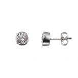XENOX Ohrringe XS7156 Silber Ohrstecker Damenohrringe