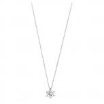 XENOX Damen Kette XS7175 Silber Collier Halskette mit Anhänger 45 cm