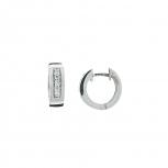 XENOX Ohrringe XS8520 Silber Creolen Damenohrringe Classic Ohrschmuck