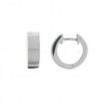 XENOX Ohrringe XS8530 Silber Creolen Damenohrringe Classic Ohrschmuck