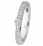 XENOX Damenring XS9113 Silber Ring Fingerring Friends Silberring Gr. 54