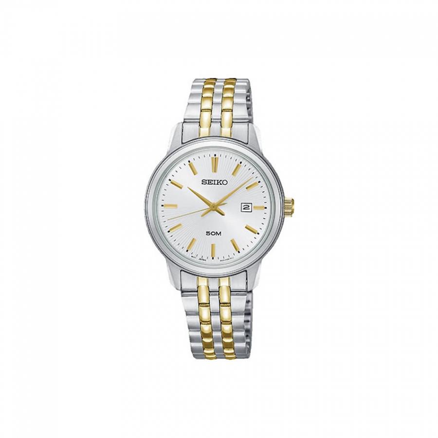 Details Datum New Sur661p1 Seiko Armbanduhr Damen Klassik Zu Uhr Bicolor Damenuhr 3j54RAL